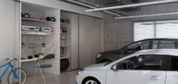 Szafa w garażu, przedpokoju